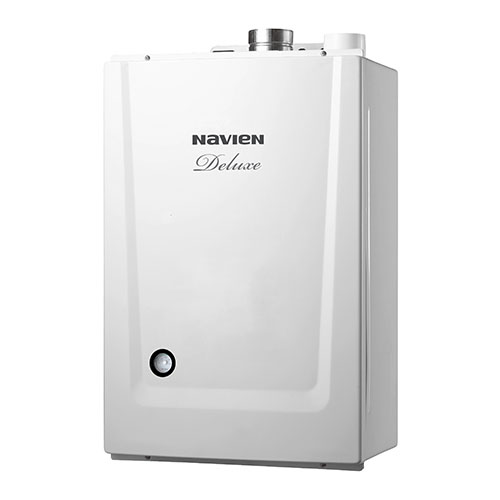 Газовый настенный котел Navien Deluxe 24A White