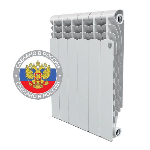 Радиатор алюминиевый RoyalThermo Revolution 350 4 секции