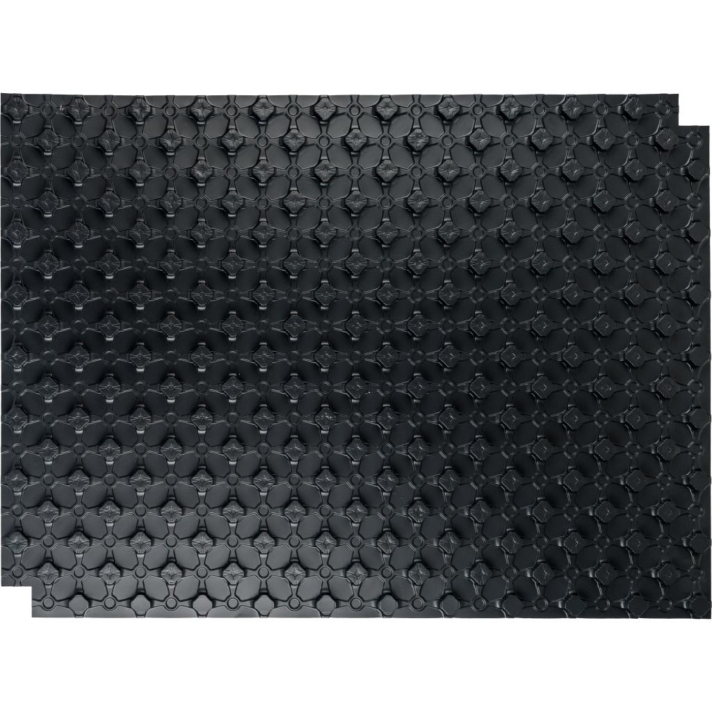 STOUT мат для теплого пола с бобышками черный 1100х800х20