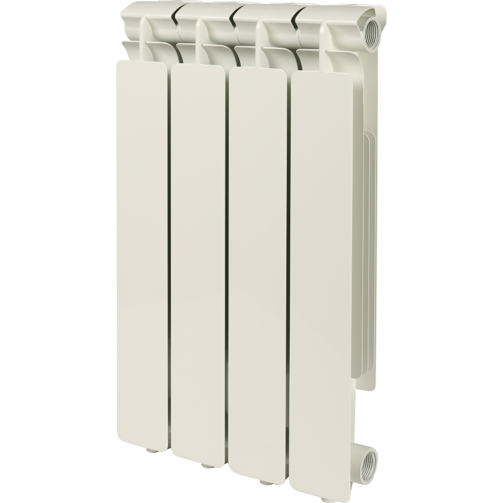 STOUT Bravo 500 4 секции радиатор алюминиевый боковое подключение