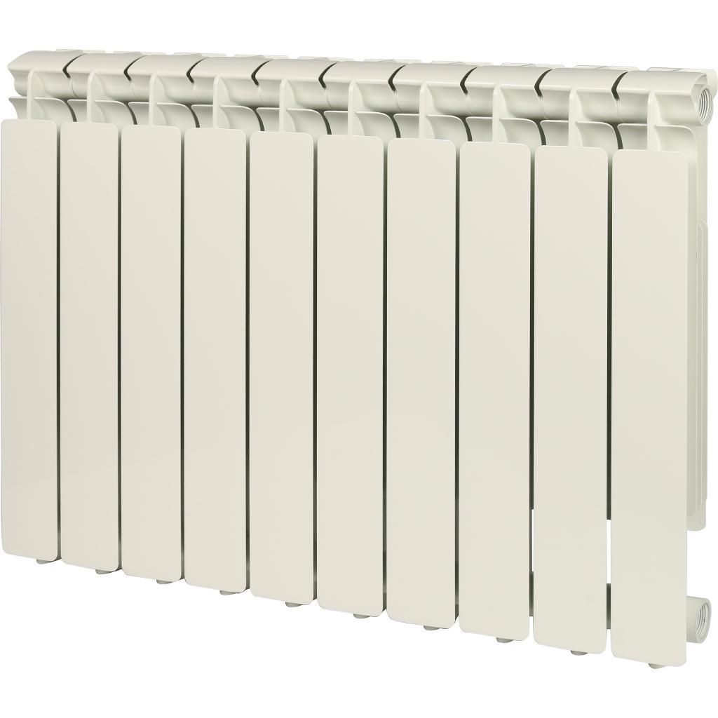 STOUT Bravo 500 10 секций радиатор алюминиевый боковое подключение